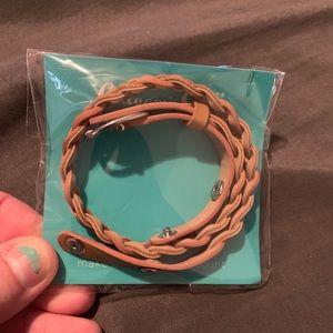 Origami Owl wrap bracelet